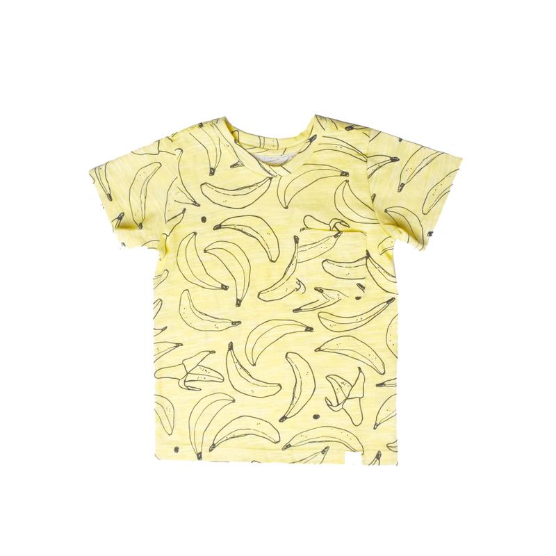 Go Bananas Tee- Yellow