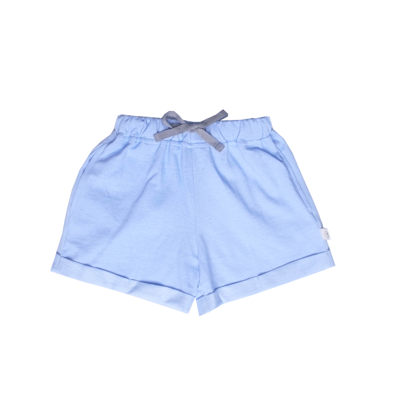 Relax Shorts-Blue