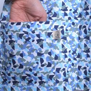 Nursing Cover- Funky Blue