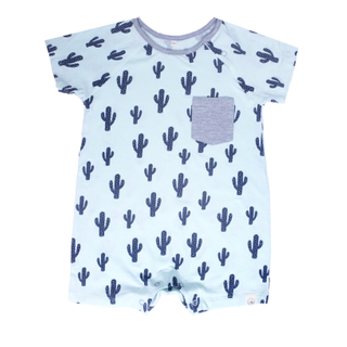 Cool as a Cactus Baby Romper