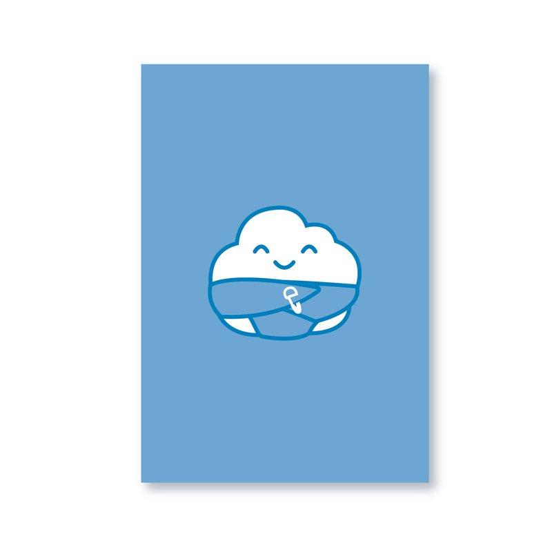 Chubby Chubby Gift Card Blue