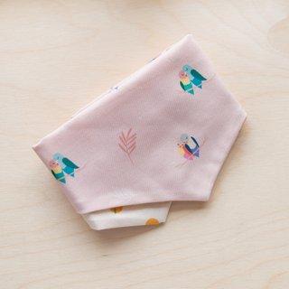 Pets - Pink Lovebirds Mini Bandana