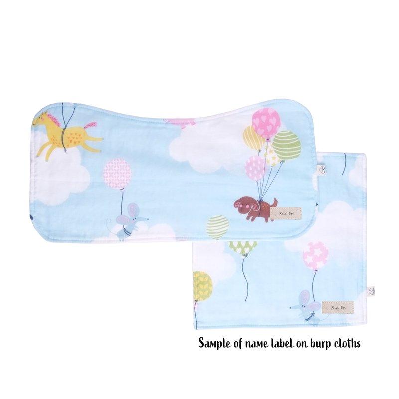 Burp Cloth Bundle - On Cloud 9