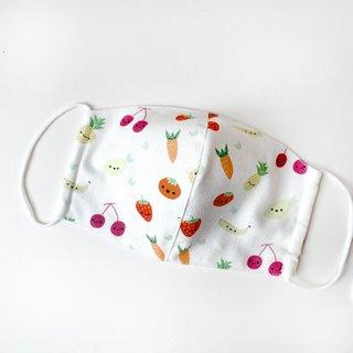 MyCalligraffiti Cotton Fabric Masks- Tutti Fruitti