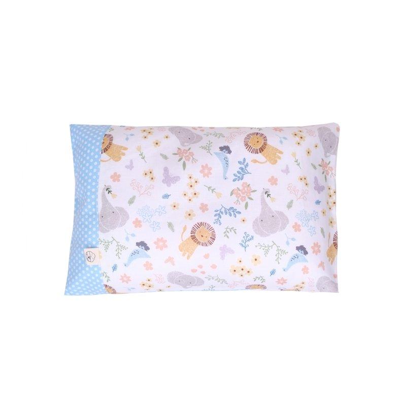Anti-flat head pillow - Sweet Safari Blue