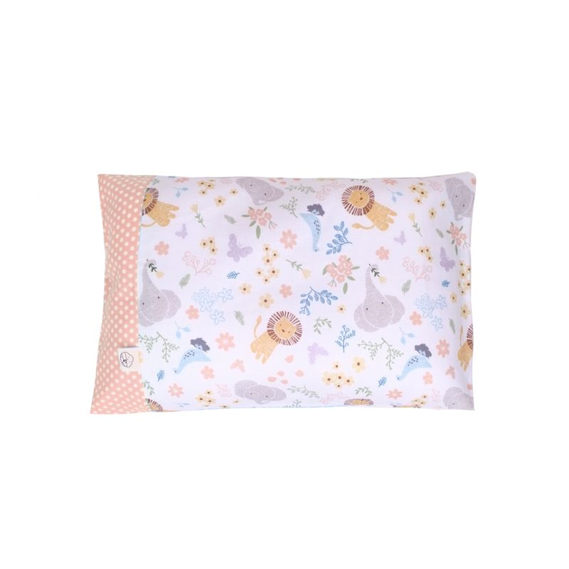 Anti-flat head pillow - Sweet Safari Pink