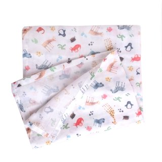 Swaddle Baby Blanket- Wildlife Safari