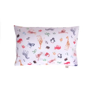 Anti-flat head pillow - Wildlife Safari