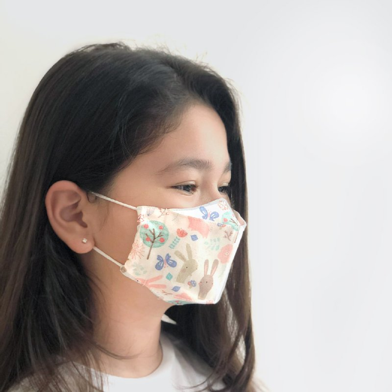 PREORDER Boxy Cotton Fabric Masks (Without Filter Pocket)