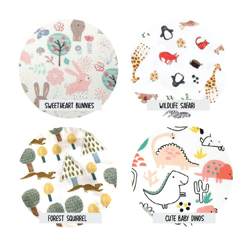 PREORDER Boxy Cotton Fabric Masks (With Filter Pocket)