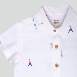 Boy's Let's Dance White Top