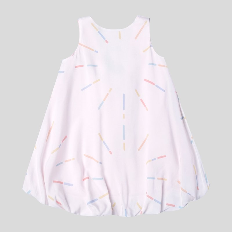 Girl's Square Back Bubble Dress - Sparkles