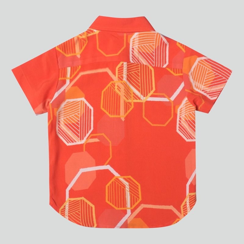 Boy's Abstract Octagon Top