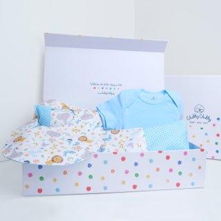 Blue Sweet Safari Gift Set