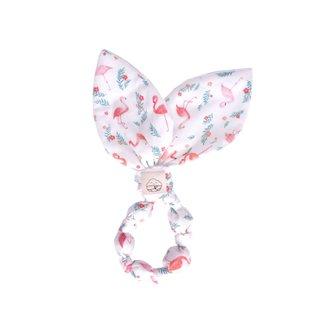 Fabulous Flamingos Bunny Ear Teether