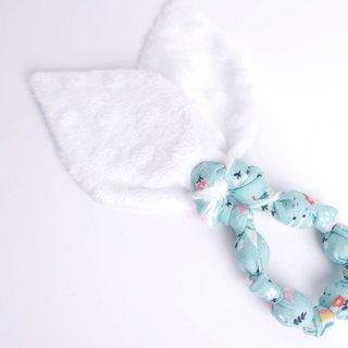 Unicorns Dream Bunny Ear Teether