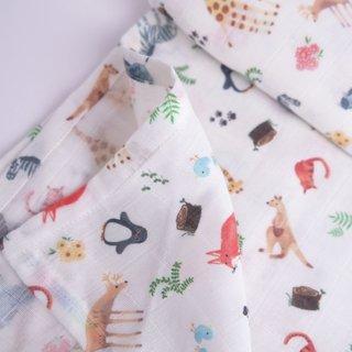 Swaddle Baby Blanket- Wildlife Safari