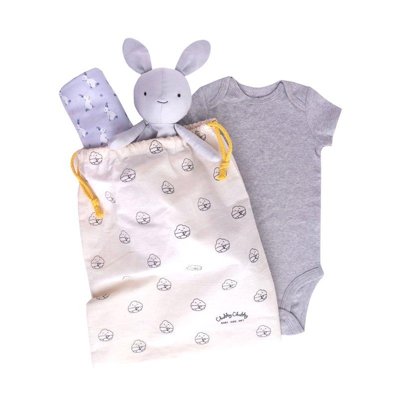 Oh Sweet Bunnies Gift - Grey